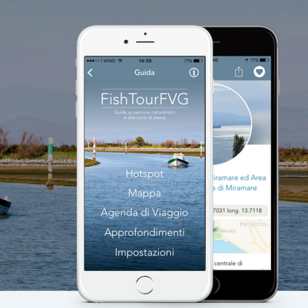 FishTourFVG - Guide to the nature trails and fishing areas